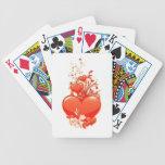 Ámele amor romántico de la tarjeta del día de San Barajas De Cartas