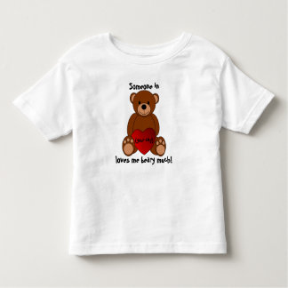 """Ámele Beary mucha"" camiseta del niño Playeras"