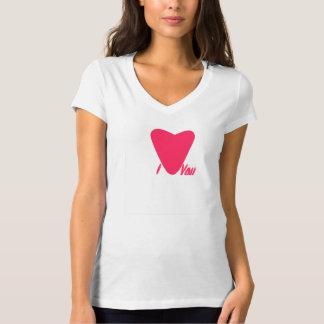Ámele camiseta del corazón