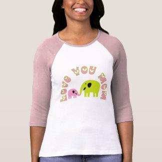 Ámele las camisetas de la mamá camisas