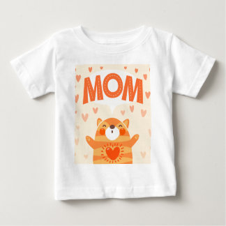ámele mamá playera para bebé