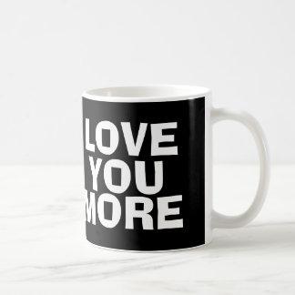 ÁMELE MÁS, taza de café