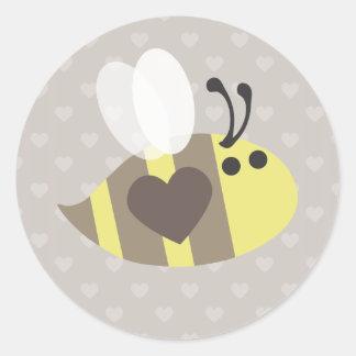 ¡Ámele miel! Etiquetas Redondas