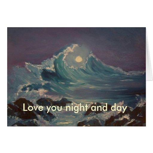 ámele noche y día felicitación