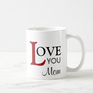 Ámele nombre del personalizado de la mamá taza de café