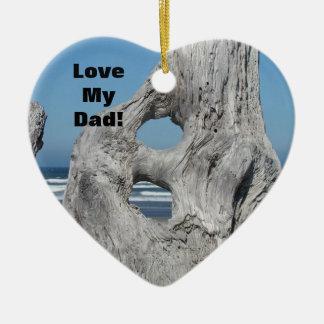 ¡Ámele papá ornamento usted es el mejor océano Ornamentos De Reyes