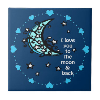 Ámele teja de la luna azul