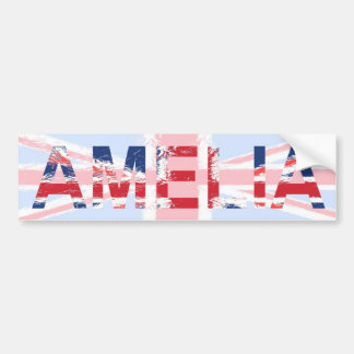 Amelia Bumper Sticker