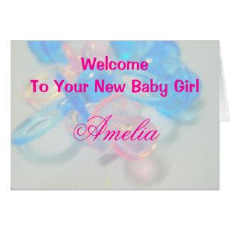 Amelia Card