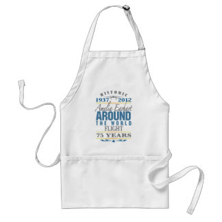 Amelia Earhart 75 Year Anniversary Adult Apron