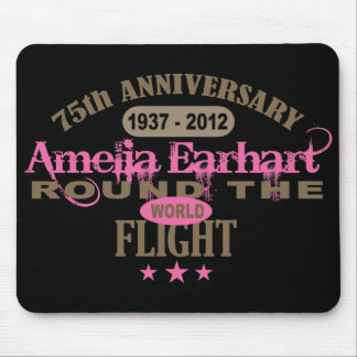 Amelia Earhart 75 Year Anniversary Mouse Pad