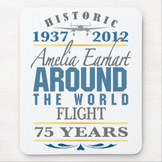 Amelia Earhart 75 Year Anniversary Mousepads