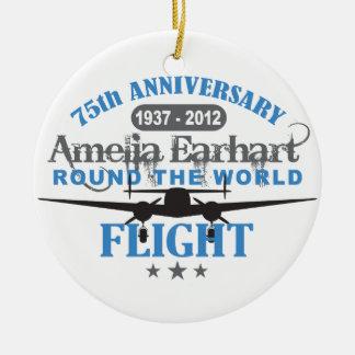 Amelia Earhart aniversario de 75 años Adorno Para Reyes