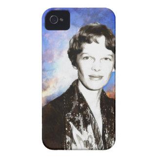 Amelia Earhart Artwork iPhone 4 Case-Mate Case