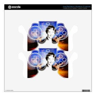 Amelia Earhart Artwork PS3 Controller Skin