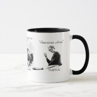 Amelia Earhart Aviator Mug