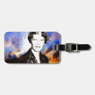 Amelia Earhart Bag Tag