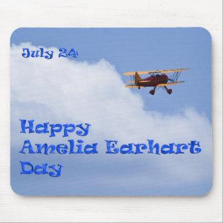Amelia Earhart Day Mousepad July 24