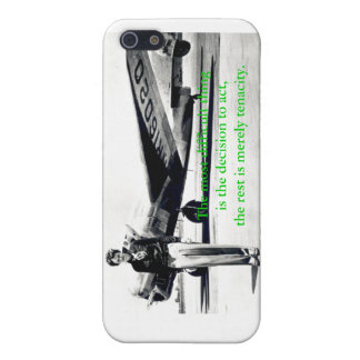 Amelia Earhart iPhone4 case