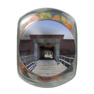 Amelia Fort Glass Candy Jar