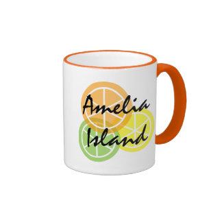 Amelia IsFlorida Citrus OrangeLimeLemon Coffee Mug