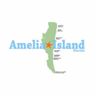 Amelia Island. Cutout