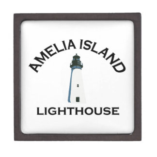Amelia Island - Lighthouse Design. Jewelry Box