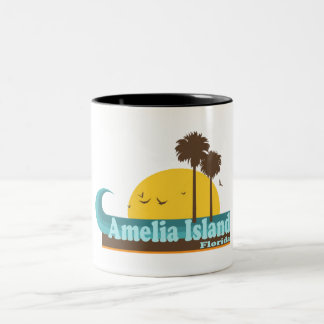 Amelia Island. Two-Tone Coffee Mug