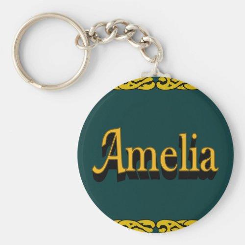 Amelia Keychain