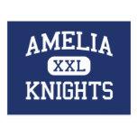 Amelia Knights Middle School Batavia Ohio Postcard
