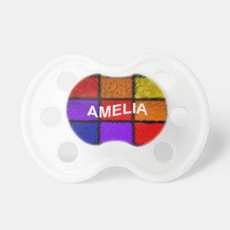 AMELIA (nombres femeninos) Chupetes Para Bebes