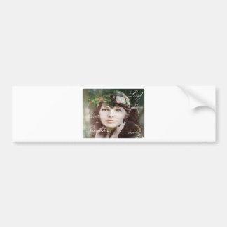 Amelia perdió en paraíso pegatina de parachoque
