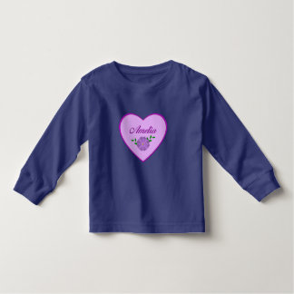 Amelia (purple heart) tee shirt