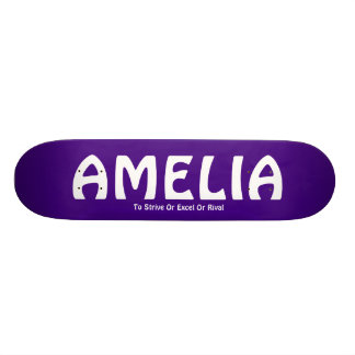 AMELIA, To Strive Or Excel Or Rival Skateboard Deck