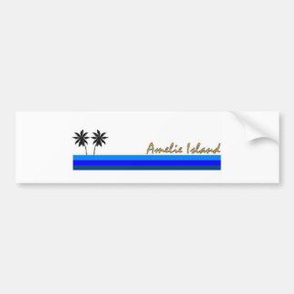 Amelie Island, Florida Car Bumper Sticker