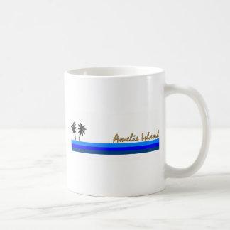 Amelie Island, Florida Classic White Coffee Mug