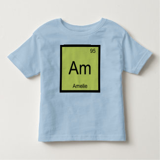 Amelie Name Chemistry Element Periodic Table Tees