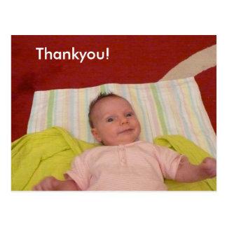 Amelie Thankyou Postcard