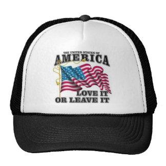 Ámelo o déjelo gorras