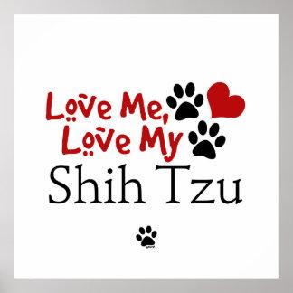 Ámeme, ame a mi Shih Tzu Impresiones
