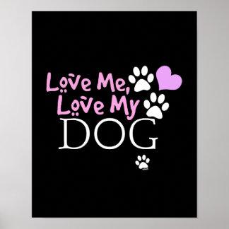Ámeme, ame mi perro (el rosa) poster