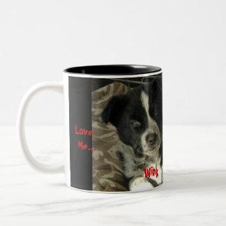 Ámeme… Ame mi taza de los perros…