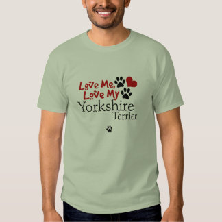 Ámeme, ame mi Yorkshire Terrier Playera