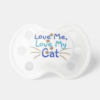 ámeme amor mi gato chupetes para bebés