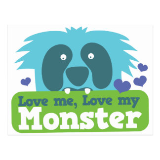 Ámeme amor mi monstruo postal