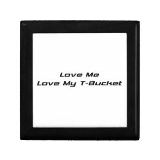 Ámeme amor mis regalos de Tbucket Tbucket por Gear Joyero Cuadrado Pequeño