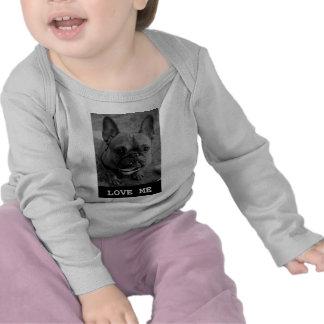 Ámeme la manga larga infantil T Camisetas