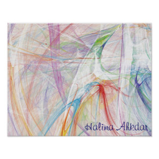 Ámeme poster de la paz, estudios de Halima   Ahkda