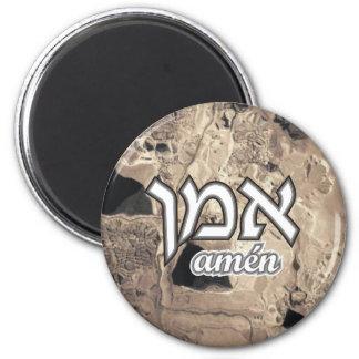 Amen 2 Inch Round Magnet