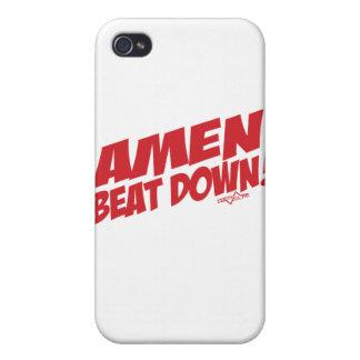 AMEN Beatdown R iPhone 4 Carcasa
